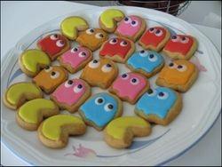 Pac Man cookies