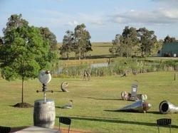mistletoe vineyards outdoor sculpture garden