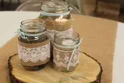 Mason Jar Table Decorations
