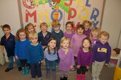 2014-2015 Young 3's & 3 Year Old Class