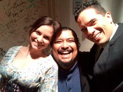 with the great Baritone Nelson Martinez and Soprano Adriana Valdes