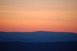 Skyline Drive, Sunset