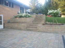 Paver Patio, Walls & Steps