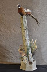 Floor Bird Pedestal