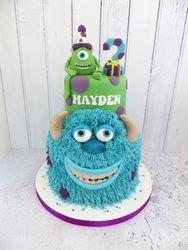 Hayden's Monster Birthday Cake