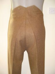 OR's SD trousers, rear view £90