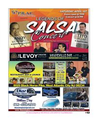 LEGENDS OF SALSA CONCERT / RALPH PADILLA / PIZZA PARTY 3 / DIAZ AUTO GLASS