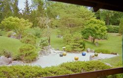 Chihuly in Japanese Garden