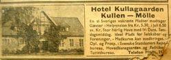 Hotell Kullagarden 1939