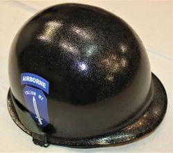 'Follow Me' parade helmet.