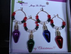 Cheers to Christmas Lights (4) (Item #4025)  $5.00