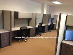 used cubicle assembly service in chevy chase MD