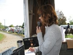 Irvette Timms, Announcer