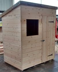 Pent Shed (6' x 4')