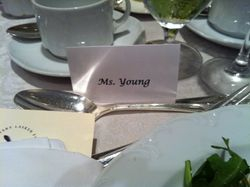 My place card