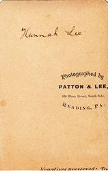 Hannah Lee of Reading, PA