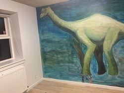 Billeder fra dinosaur-rummet