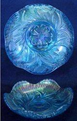 "Field Thistle 5"" bowl in celeste blue"