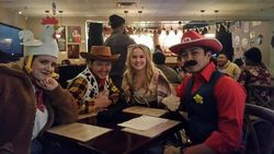 Woody, Mario, and Friends