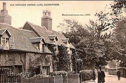 Old Cottages. 1903.