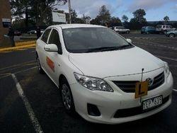 Driving School Pakenham - Toyota Corolla  - Automatic Transmission