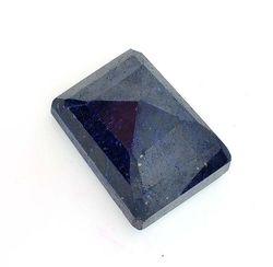 Emerald Cut Sapphire Gemstone