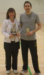 Handicap Tournament Mixed Doubles Winners