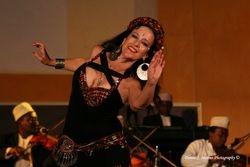 Tamalyn with the Ikhwani Safaa Orchestra