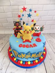 Oscar's Birthday cake