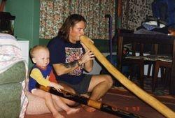 Playing the Didgeridoo
