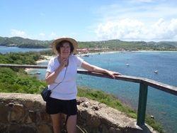 Jan on Pigeon Island