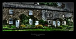 Downham Village-Lancashire-England