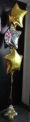 Foil Star Balloons Helium