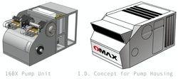 OMAX 160X Pump Housing