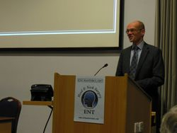 Mr Mike Pinkerton, CEO, Doncaster Royal Infirmary, welcomes the delegates