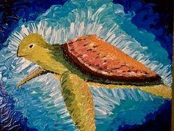 Pallet Knife Sea Turtle