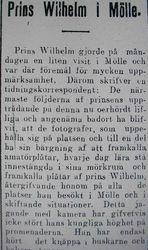 Prins Wilhelm 31 juli 1915