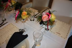Gifts, Place setting, Give away