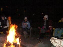 Bon Fire Saturday Night