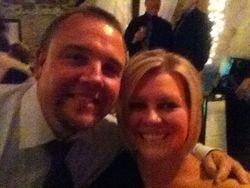 My friend Mark at the Hanson wedding!