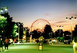Cedar Point at Night