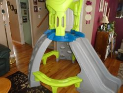 Step 2 Kid's Castle Top Outdoor Mountain Climber with Slide - $250