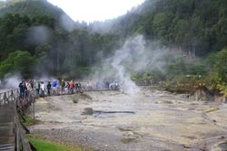 The Azores - hot springs