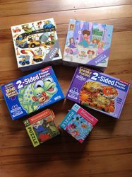 Puzzles - floor puzzles and jumbo puzzles