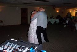 Their 1st dance at the reception