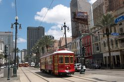 Vondullen Streetcars on Canal Street