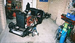MG TA Restored Rolling Chassis