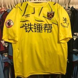 Roberto Jiminez Gago Premier League Asia trophy away shirt.
