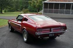 58. 68 Fastback Mustang.