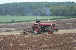 Massey Ferguson Super98 ploughing